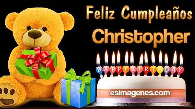 Feliz Cumpleaños Christopher