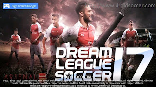 DLS 2017 Mod Arsenal by Renaldy Apk + Data Obb Android