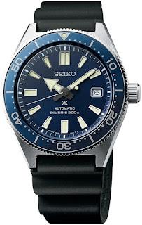 Seiko Prospex Reinterpretation 1965 Diver's 200M Curved Sapphire SPB053J1