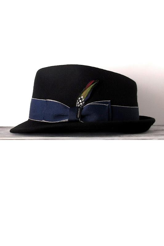 Chapeau Femme Stetson Boston noir