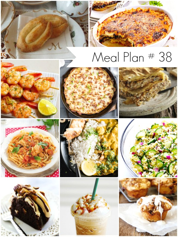 Meal Plan Ideas - Delicious Recipes Round Up