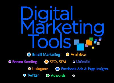 Các công cụ digital marketing phổ biến