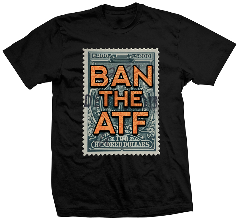 Ban the ATF firearm shirt