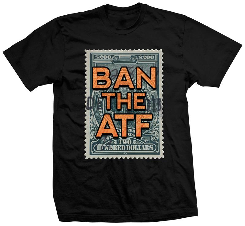 Ban the ATF firearm shirt
