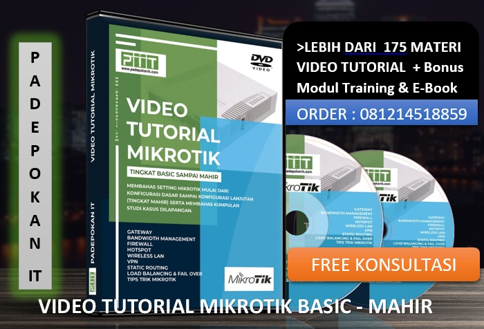 Video Tutorial Mikrotik Ready