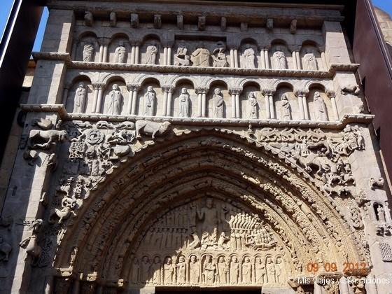 iglesia de Santa María, Sangüesa, Navarra