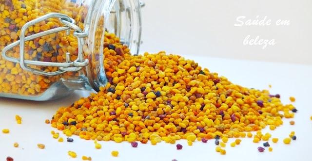 Pólen de abelha, os benefícios na saúde