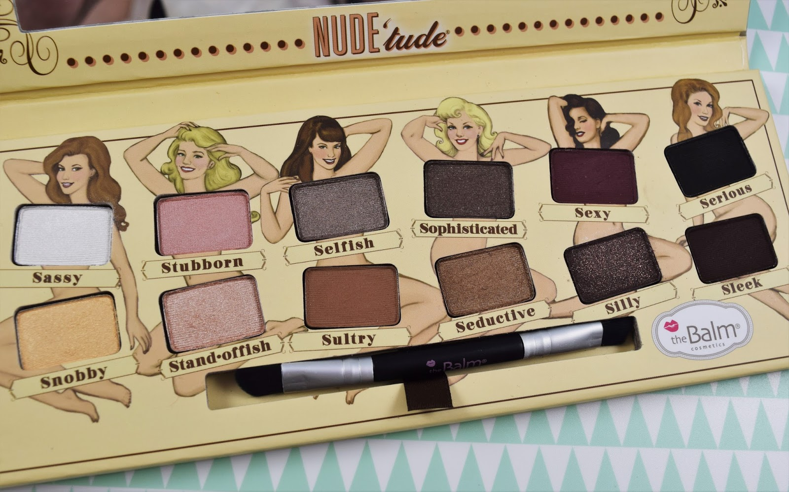 The Balm Nudetude Eyeshadow Palette - A Life With Frills-5003