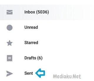 Melihat Email Terkirim Di Yahoo Lewat HP