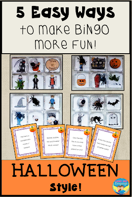 5 easy ways to have more fun with Bingo this Halloween!