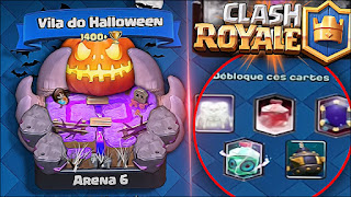 Leak update Clash Royale 2017