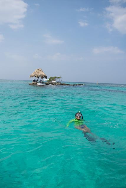 snorkelling islas del rosario cartagena de indias