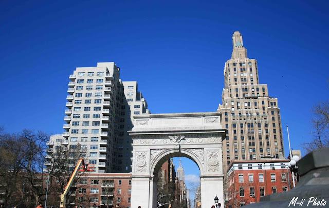 My Travel Background : Une semaine à New York : Greenwich Village Washington Square