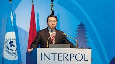 الإنتربول يطالب الصين بمعلومات عن رئيسها المختفي
