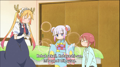DOWNLOAD Kobayashi-san Chi no Maid Dragon Episode 11 Subtitle Indonesia
