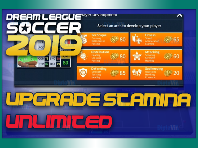 CARA-UPGRADE-STAMINA-DREAM-LEAGUE-SOCCER-TANPA-BATAS