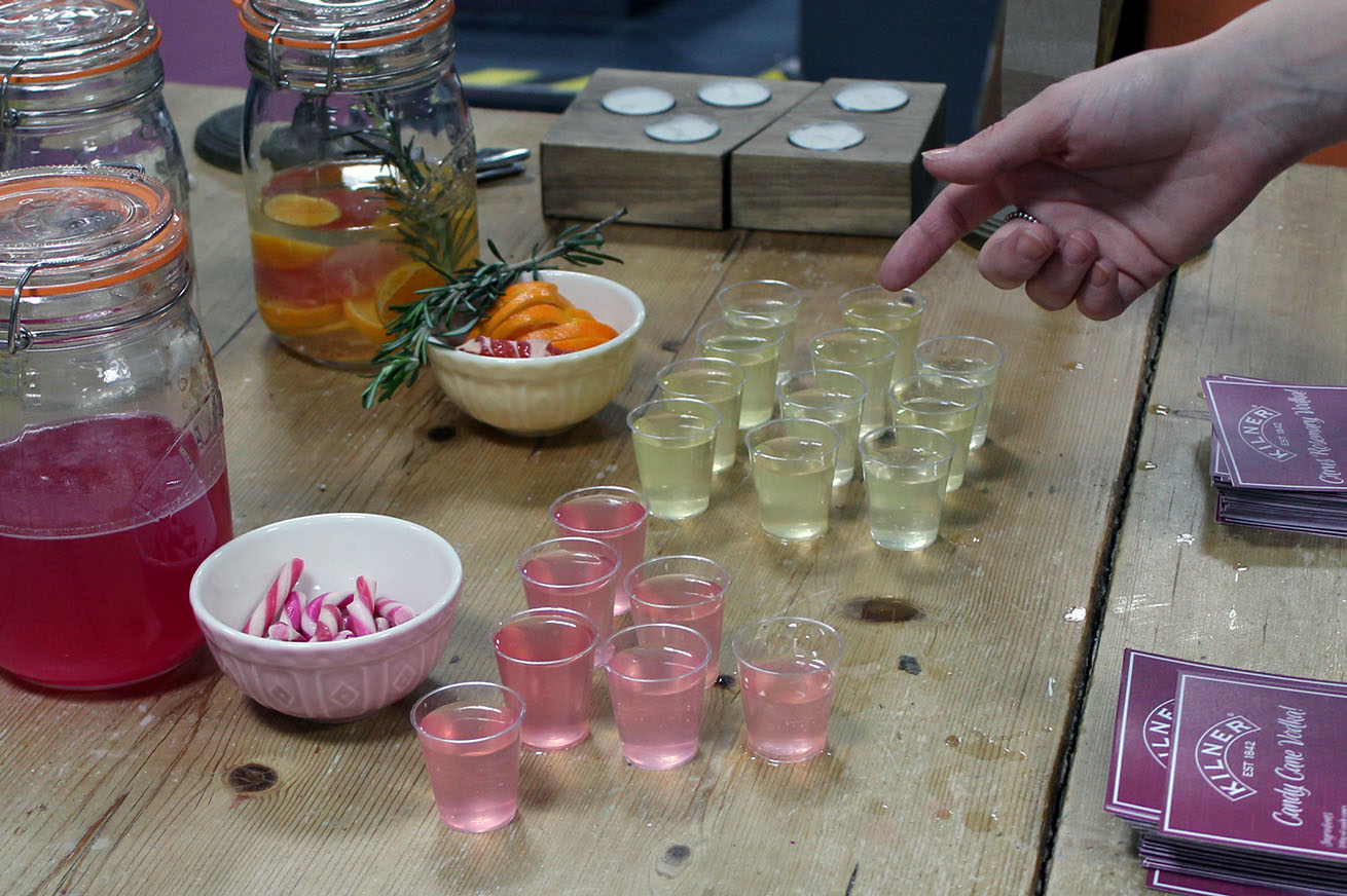 Kilner pop up event at Rex Liverpool infused gin