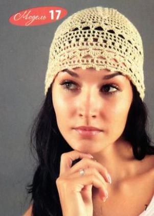 Теплые варианты шапок для зимы и легкие ажурные на весну