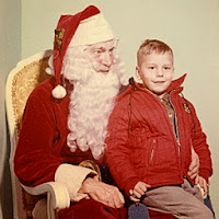 Santa Claus Rick Sincere 1960s Christmas Xmas