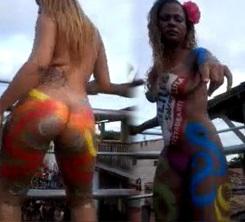 Putonas Peladas no Carnaval