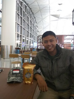 Kopi Lelet Mlete on Bandara International Hongkong