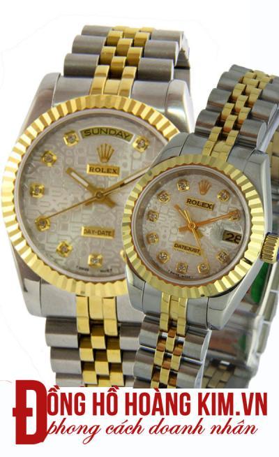 đồng hồ đôi rolex giá rẻ