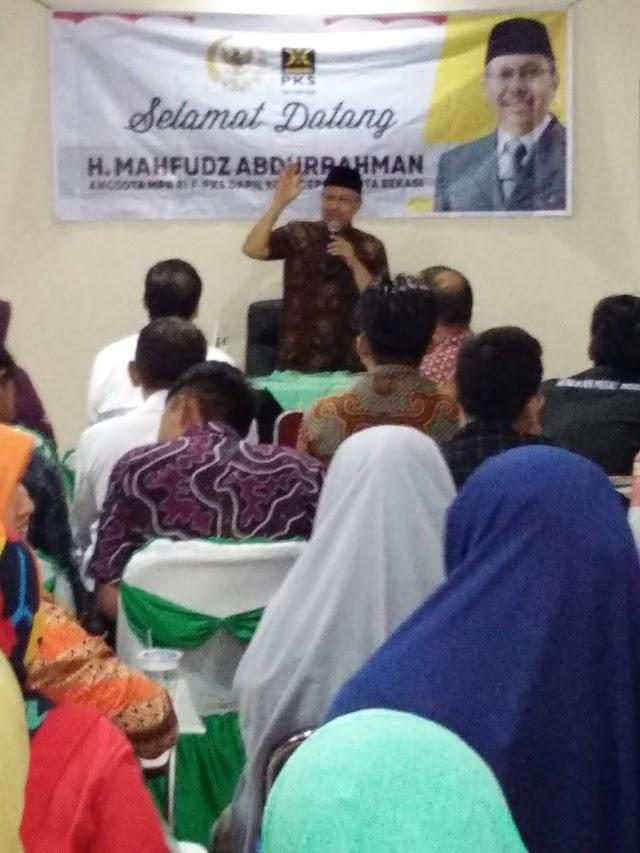 Anggota DPR RI Sosialisasikan 4 Pilar