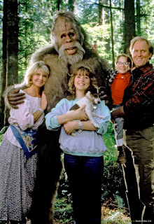 Harry and the Hendersons 1987 Bigfoot comedy children movie
