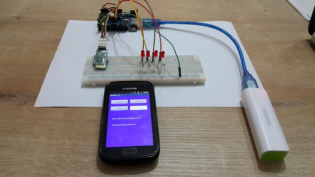 Arduino projet: Connect Arduino Uno to Android via Bluetooth