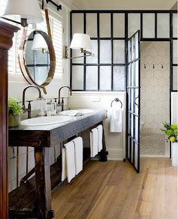 decoración baño ndustrial