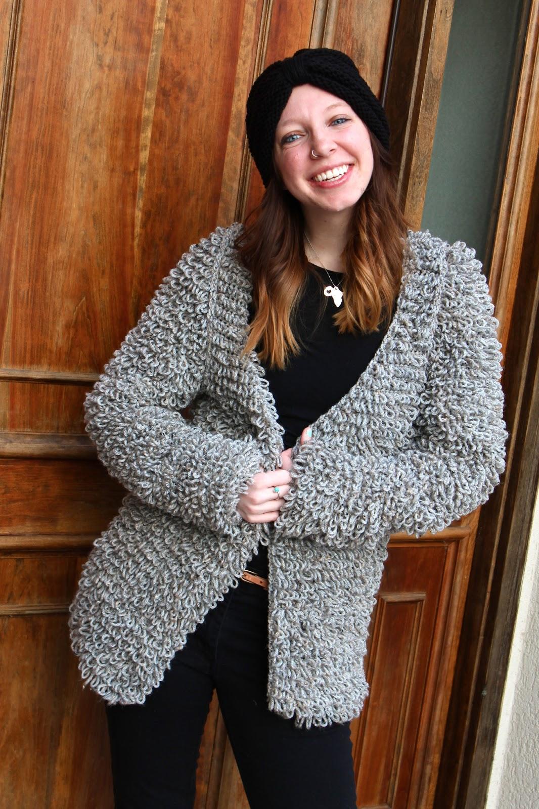 Sans Limites Crochet: The Faux Fur Coat