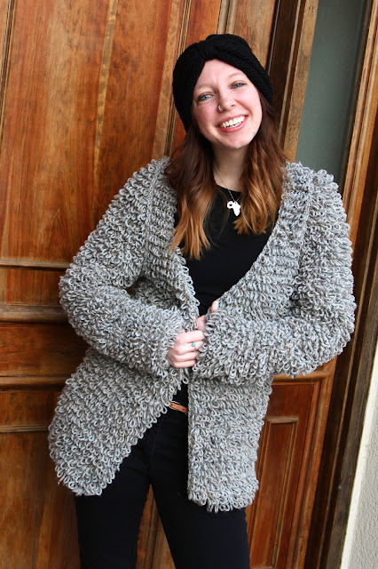 Sans Limites Crochet: The Faux Fur Coat
