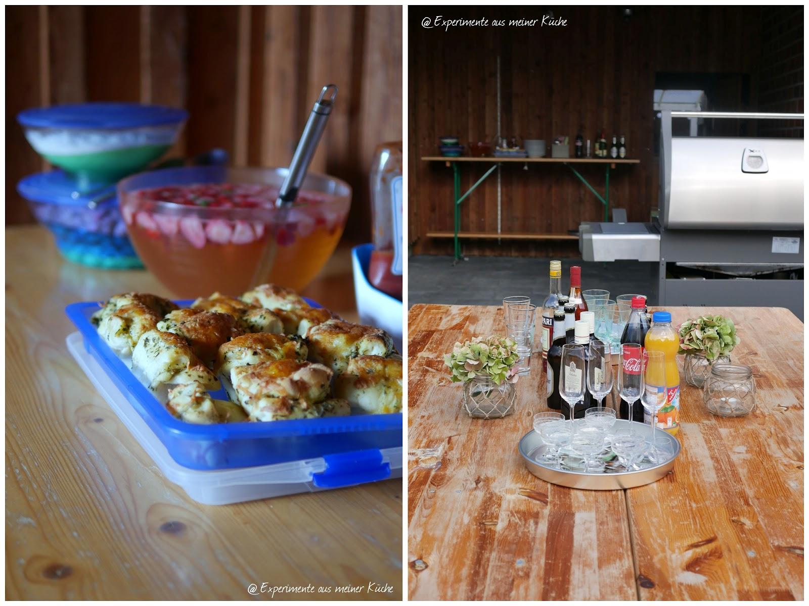 Experimente aus meiner Küche: Der Countdown läuft... Partyrezepte ...