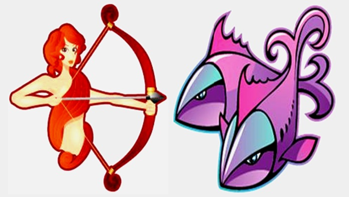 Compatibilità tra Sagittario e Pesci in amore