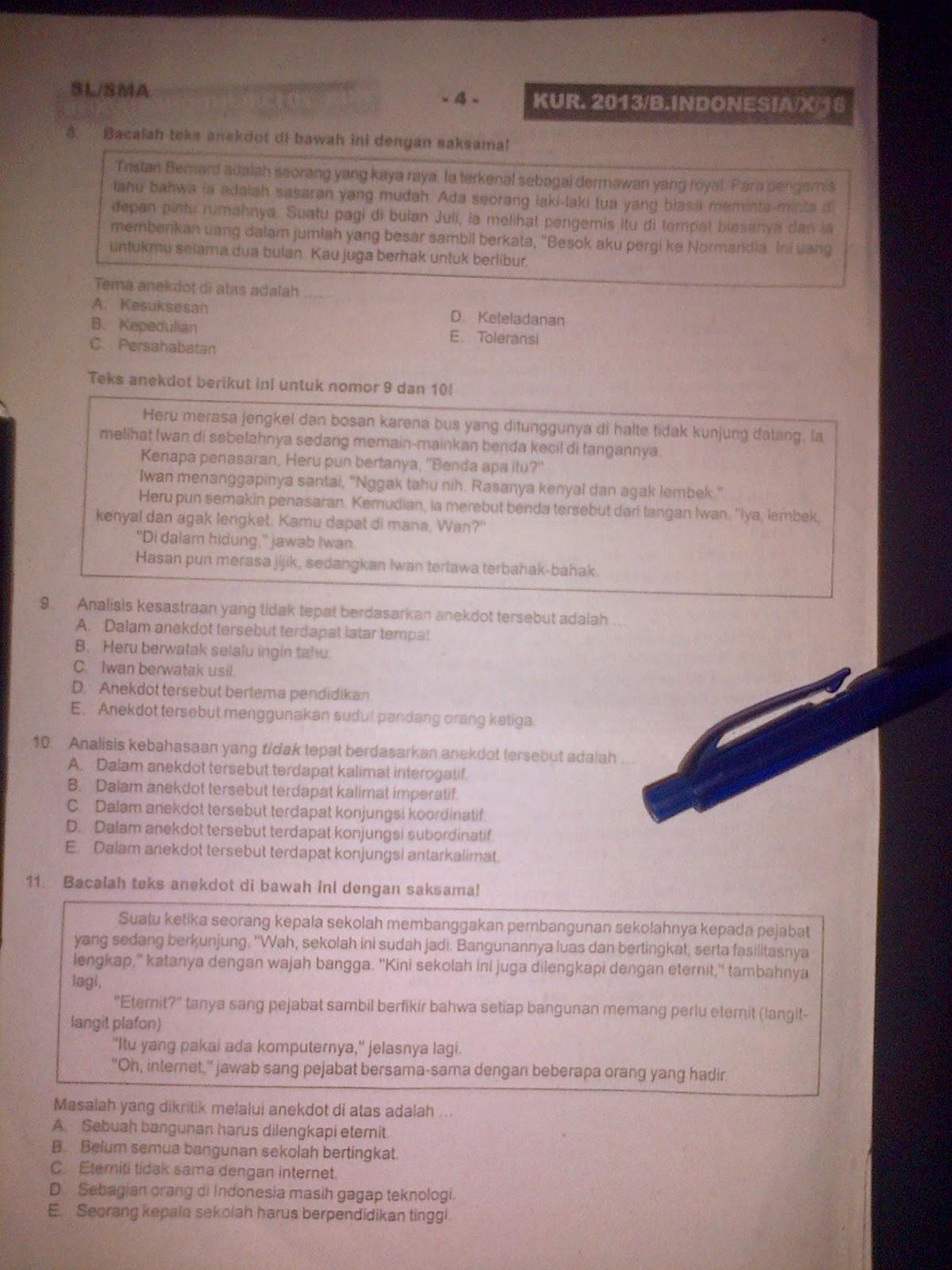 Soal Essay Bahasa Inggris Kelas 7 Semester 2 Kurikulum 2013