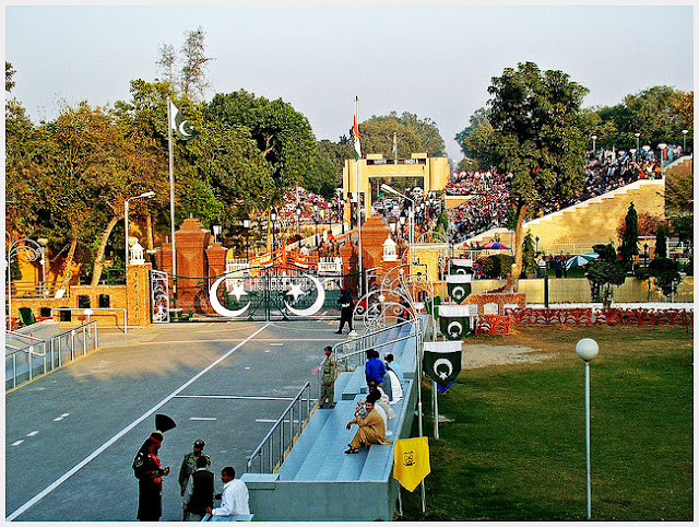 Wagah Border (Experience The Feel Of Patriotism And Nationality)
