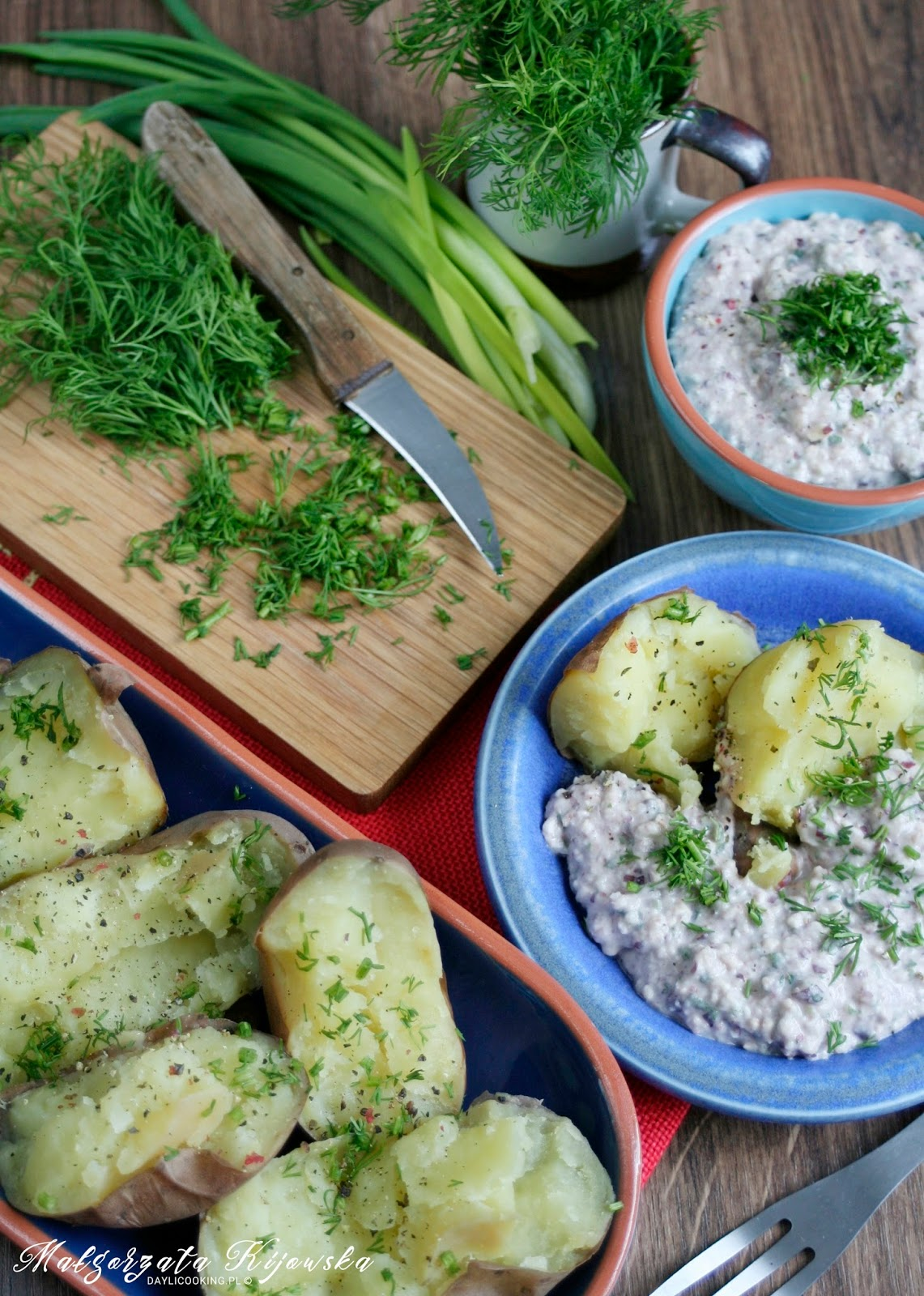 obiad, ryba, ziemniaki, daylicooking, Małgorzata Kijowska