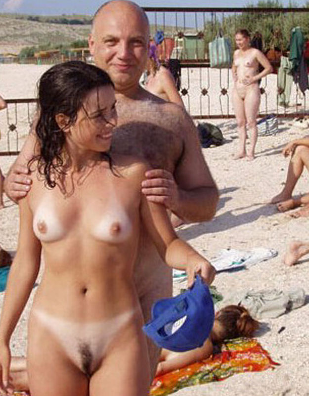 Russian nudist camp families