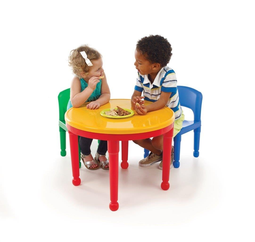 Hereu0027s The Chair And Table Set With The Cover Atop For A Smooth Surface  Toddlers And Kids Can Eat, Paint, Color  Whatever And Wherever Their  Imagination ...