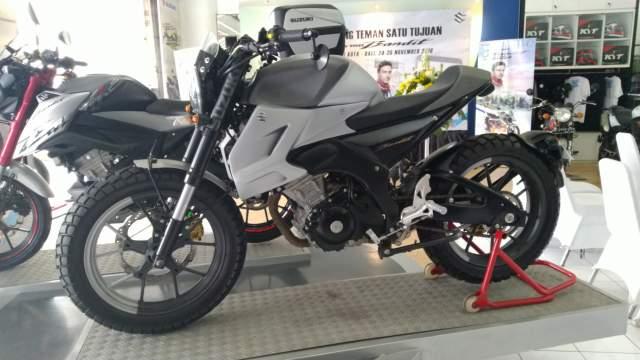 Modifikasi Suzuki GSX 150 Bandit