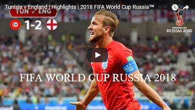 Tunisia v England Highlights 2018 FIFA World Cup Russia