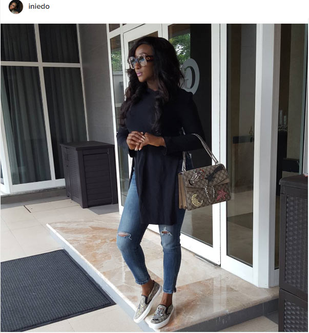 Ini Edo is that really you?