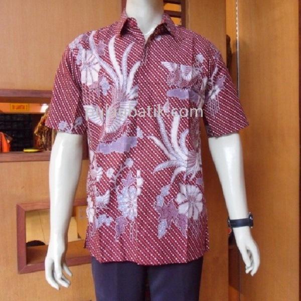 Model Baju Batik Lengan Panjang Modern: Model Baju Batik Pria Lengan Panjang Modern Modis Terbaru
