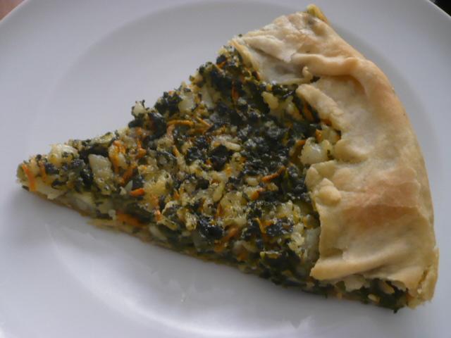 torta di verdure vegana