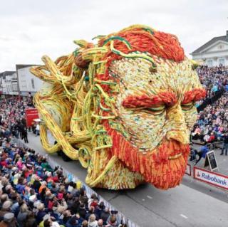 Георгиновый парад. Corso Zundert