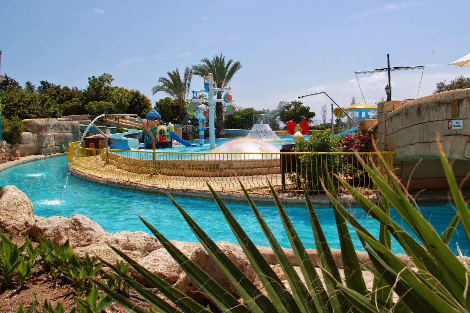 area for young children at Aphrodite Water Park, Paphos, Cyprus