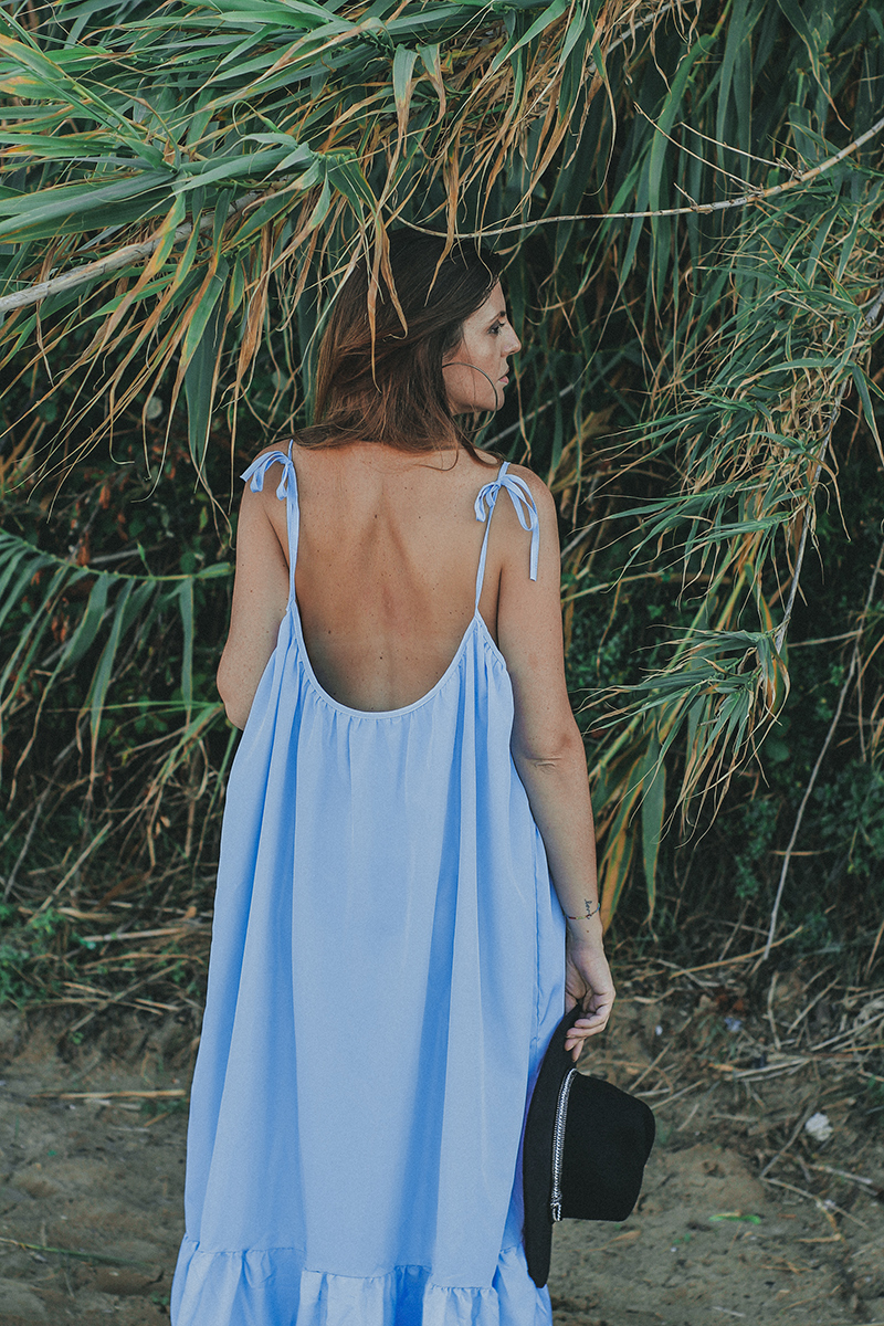Maxi dress summer outfit