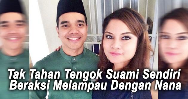 Isteri Aliff Satar Buat Tindakan Yg MENGEJUTKAN Lepas Tak Tahan Tengok Suaminya 'MESRA' Dengan Nana