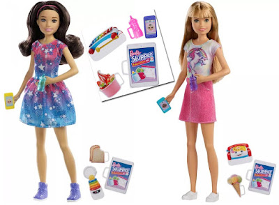 Barbie Babysitting Skipper with Phone and Baby Bottle