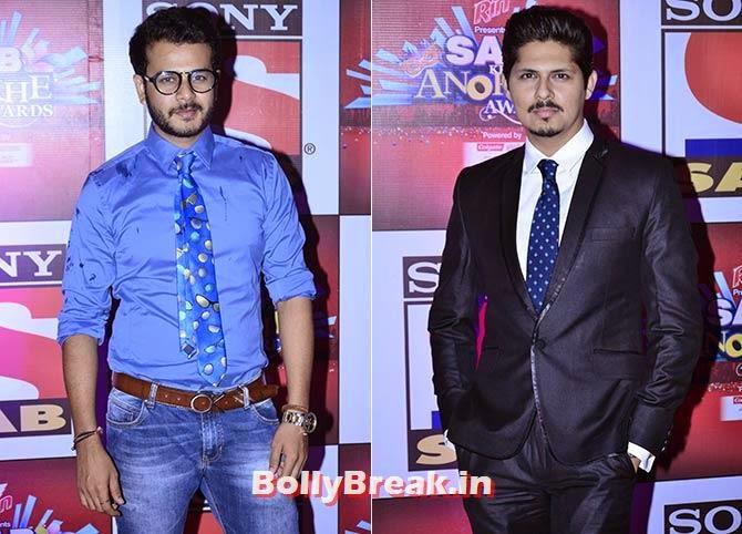 Jay Soni and Vishal Malhotra, SAB Ke Anokhe Awards Photo Gallery